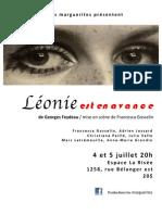 Léonie affiche