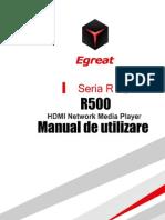 Manual de Utilizare Egreat R500