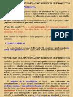 130301 Gerencia de Proyectos 01 02 IT Planning