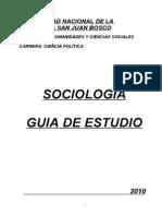 SOCIOLOGIA Guia de Estudio
