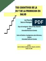 ASPECTOS COGNITIVOS DE LA PREVENCIÓN Y LA PROMOCIÓN DE LA SALUD
