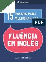 15 Passos para melhorar sua fluência em Inglês