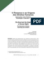 O romance e as origens dos Direitos Humanos - interseções entre história, psicologia e literatura
