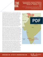 Redback Travels India Itinerary 2014