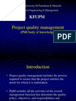 Project Quality Management PMP