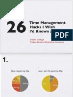 26 Time Management Hacks