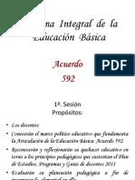 Curso Acuerdo 592