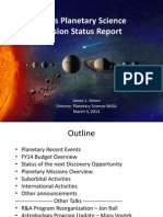 NASA PlanetaryScienceUpdateMarch2014