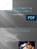 The Development of Christianity, Part 2