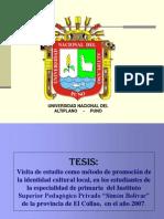 TESIS redaccion
