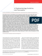 Management of Acute Pancreatitis