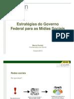 Estrategia Do Governo Federal Para Midias Sociais
