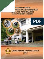Pedoman Umum Fakultas Peternakan Universitas Padjadjaran