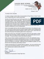 letter of recommendation ken