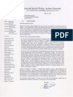 Alberto Gonzales Files - jspan org-letter to barney frank