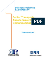 Sector Transportes