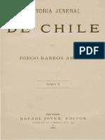 Historia General de Chile T.X. Diego Barros Arana