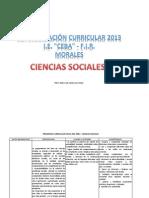 Programa Curricular 2014