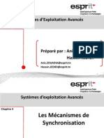 Chap4 Les Mécanismes de Synchronisation_Sémaphores