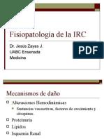 Fisiopatología de la insuficiencia renal cronica