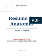 Resumo de Anatomia - Fernando Felix