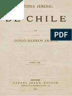 Historia General de Chile T.xii. Diego Barros Arana