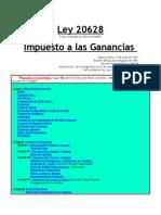 Ley 20628 Imp a Las Ganancias