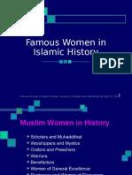 Famous Muslim Women