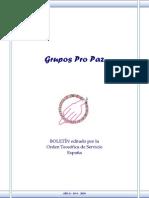 OTS - Boletín Grupos Pro Paz Nº  0