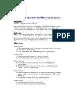 Gas Turbine Operation & Maintenance Course