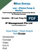 Power Point - Blue Energy - Ocean Power - Piston Pump & Racks.ppt