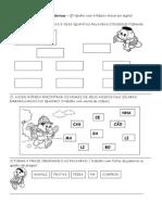 Atividades Diagnósticas - Anos Iniciais