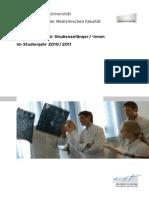 Erstsemesterbroschure-Studiendekanat-Humanmedizin-2010