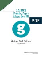 Analisi Da Guitart Di Preludio, Fuga e Allegro Bwv 998