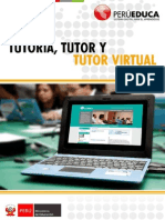 La tutoría y el tutor virtual