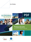 Postgraduate Booklet