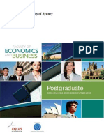 Postgraduate Booklet