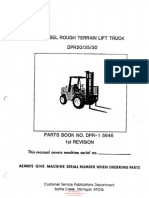 DPR-1 5645 (1st Rev) Clark Parts Manual