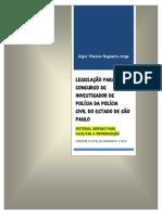 Livro Legislacao Investigador Policia 2014