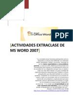 Actividad Extraclase 02 - Word 2007