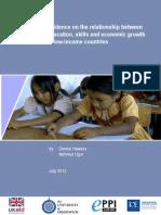 Hawkes (2012) Education Skills Growth