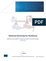 National Roaming for Resilience
