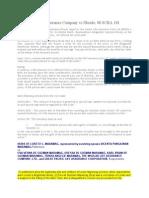 Insurance Case Digest