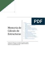 Memoria de Calculos de La Edificacion