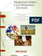Responsabilidad Moral Ante Los Problemas Sociales