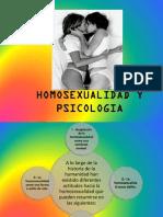 Homosexualidad - Diversidad Sexual