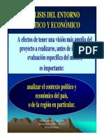 CAP V - ANÁLISIS ENTORNO POLITICO Y ECONOMICO