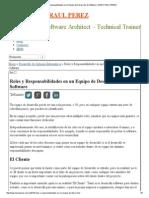 Roles y Responsabilidades en Un Equipo de Desarrollo de Software _ MARIO RAUL PEREZ