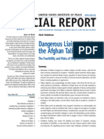 Dangerous Liaisons With the Afghan Taliban