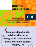 6.2 BMM3112 - KEDWIBAHASAAN